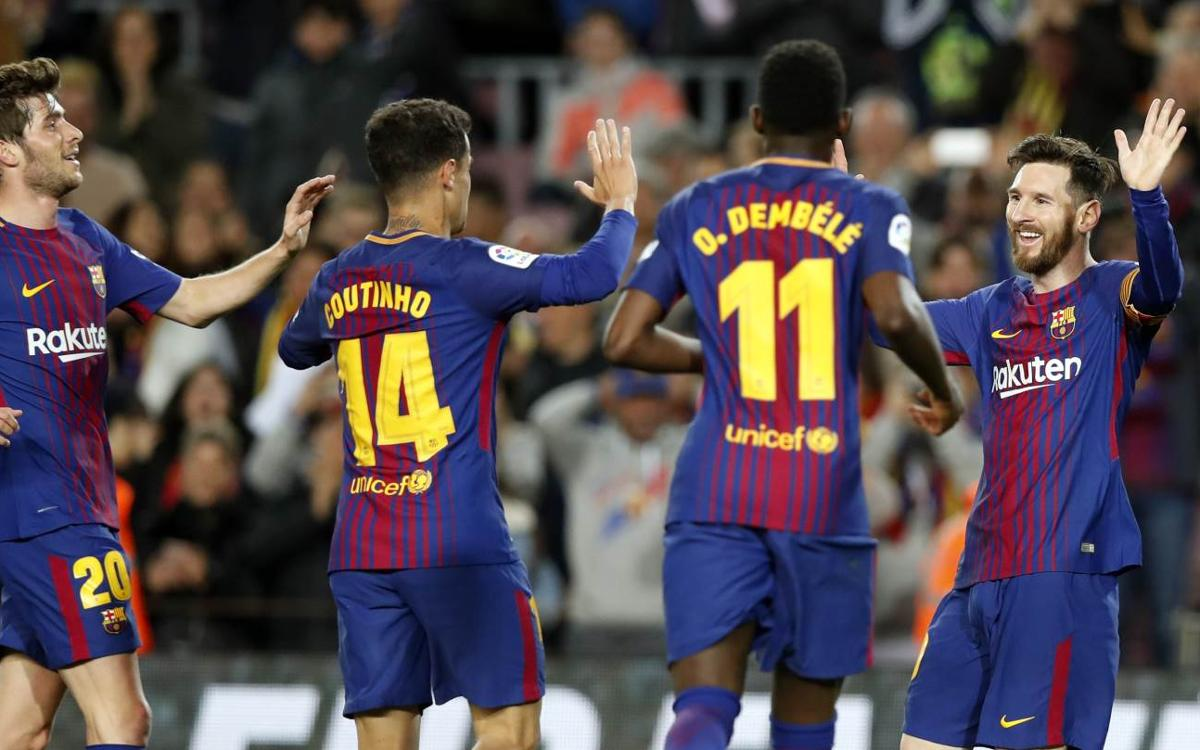 FC Barcelona 3-1 CD Leganés: And so it continues…