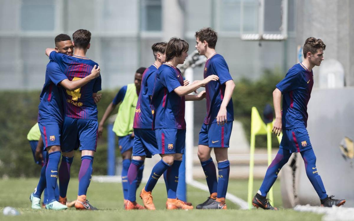 Le Top 10 des plus beaux buts de la Masia en 2017/18