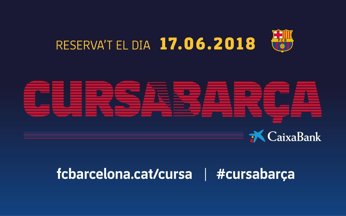 La Cursa Barça 2018 se celebrarà el 17 de juny al Camp Nou