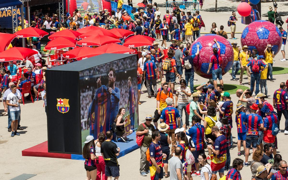FCBDesplaçaments traslada 3.800 seguidores a la final de Copa
