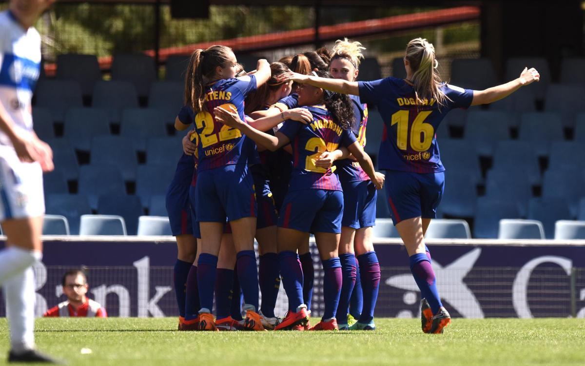 Barça Femenino - Granadilla: Quieren esta Liga (3-1)