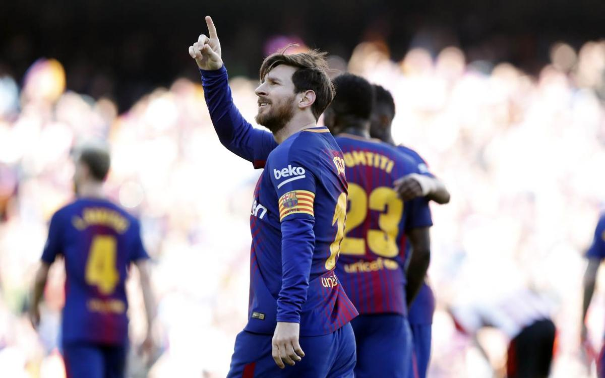 Another exhibition from Lionel Messi
