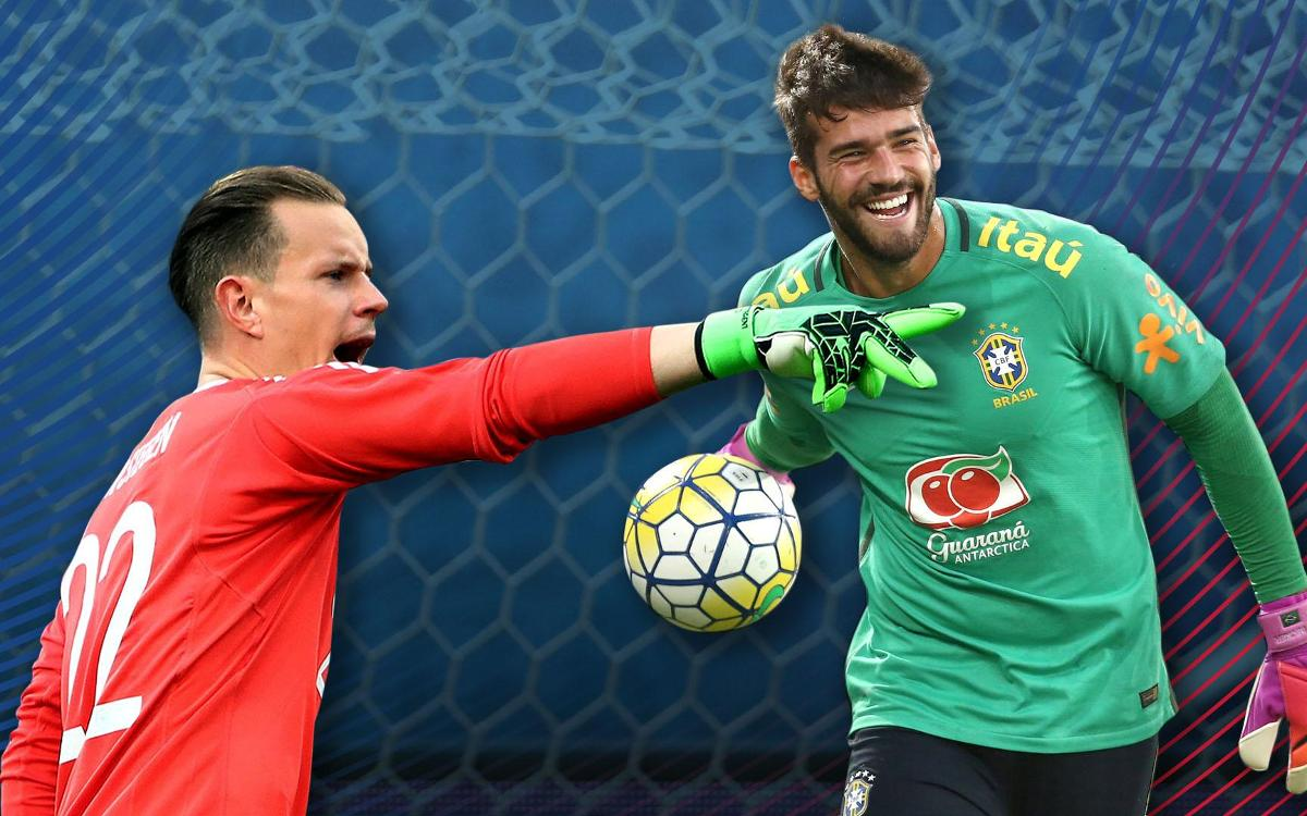 Star goalkeepers Ter Stegen and Alisson to square off Wednesday