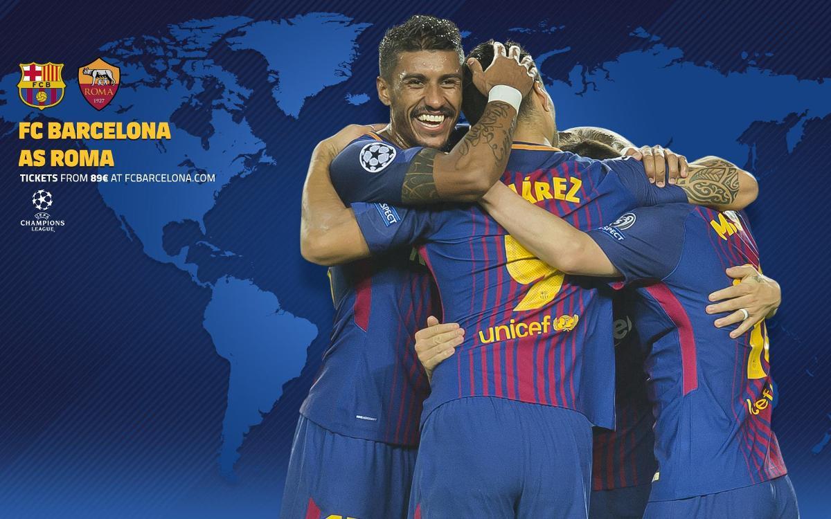 Quan i on es pot veure el FC Barcelona - Roma