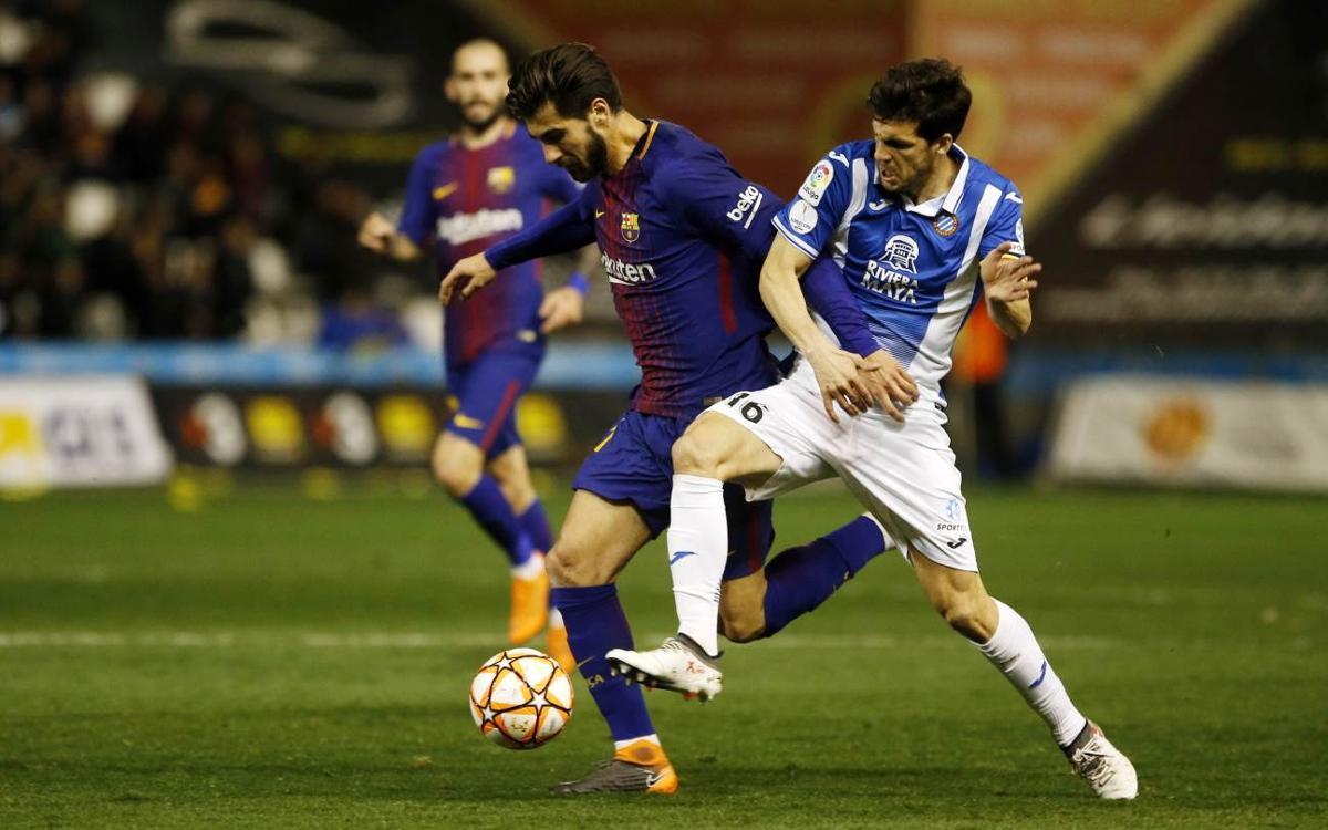 Vuelve a ver íntegra la Supercopa de Catalunya contra el Espanyol