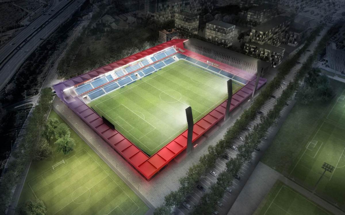The Johan Cruyff Stadium