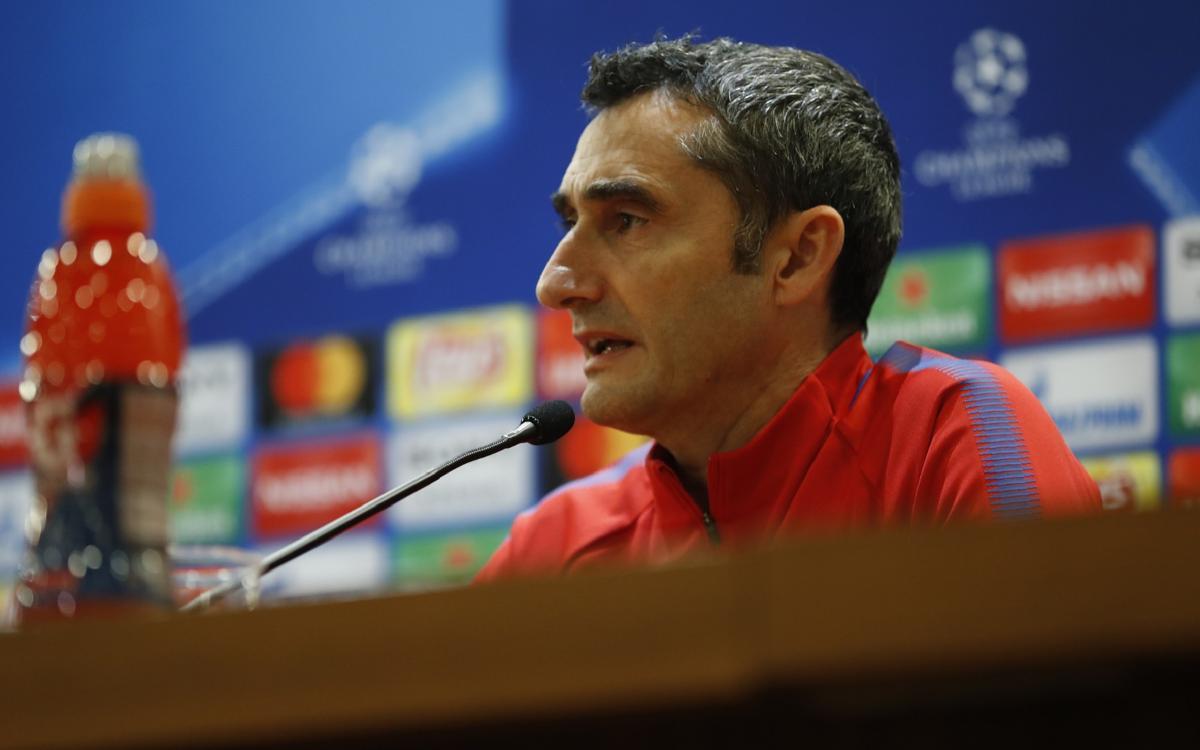 """Valverde: """"No podemos confiarnos"""""""