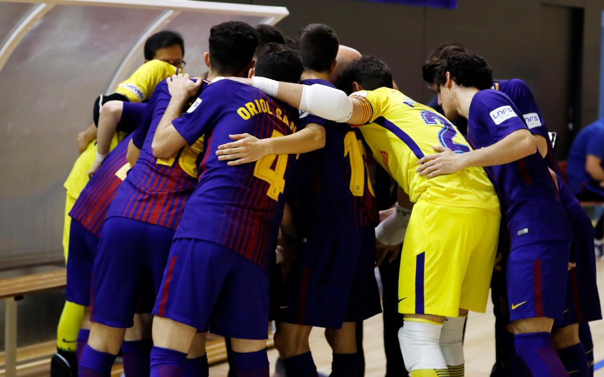 Barça Lassa B – Itea Córdoba (9-4): Triomf de conjunt