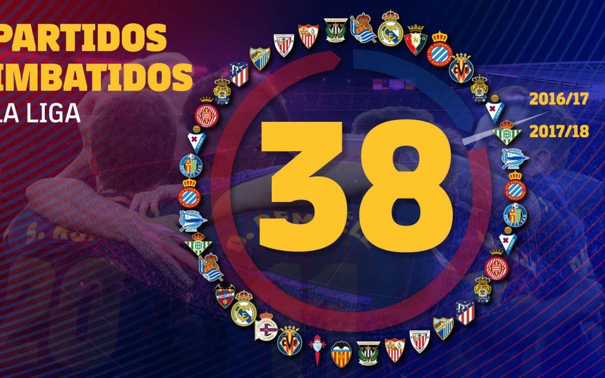 El FC Barcelona iguala el récord de imbatibilidad de la Real Sociedad