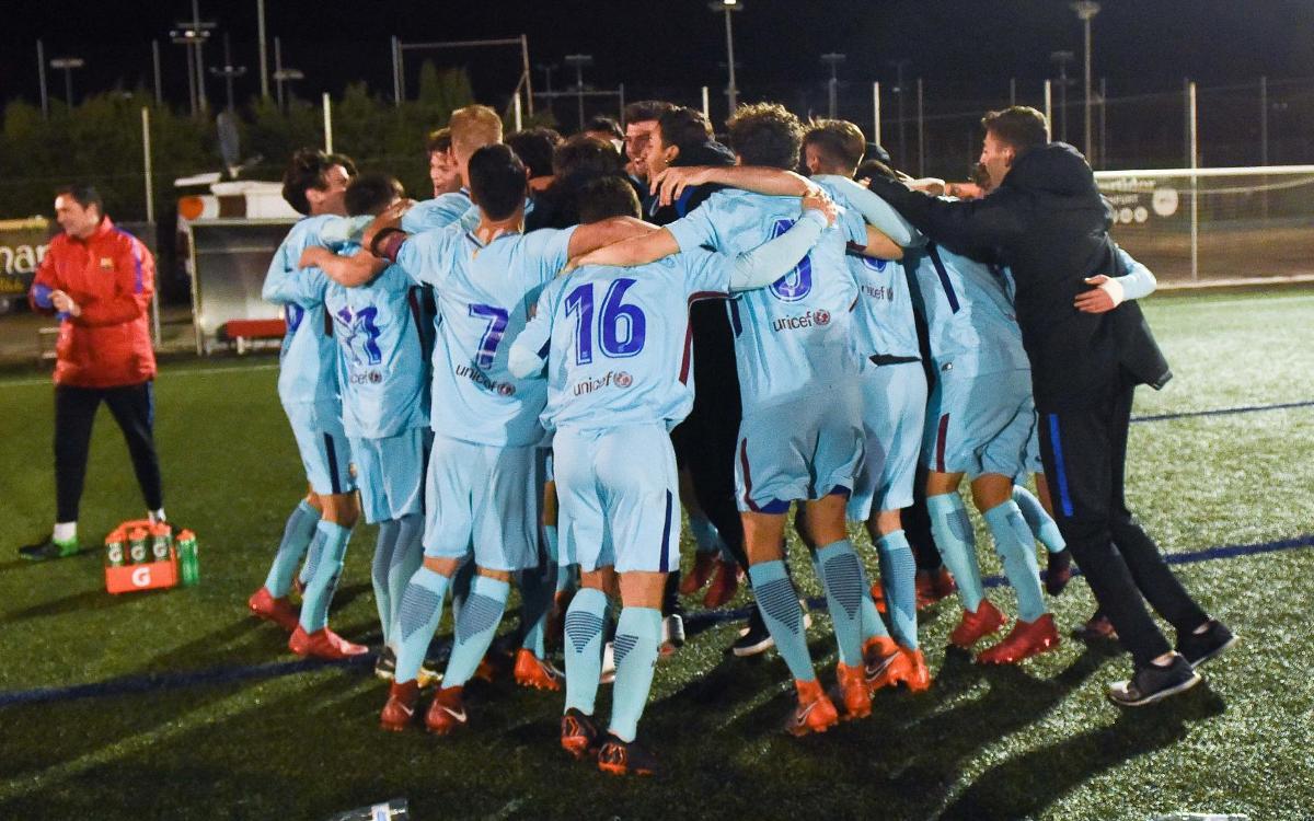 Nàstic - Juvenil A: ¡Campeones de Liga! (1-3)