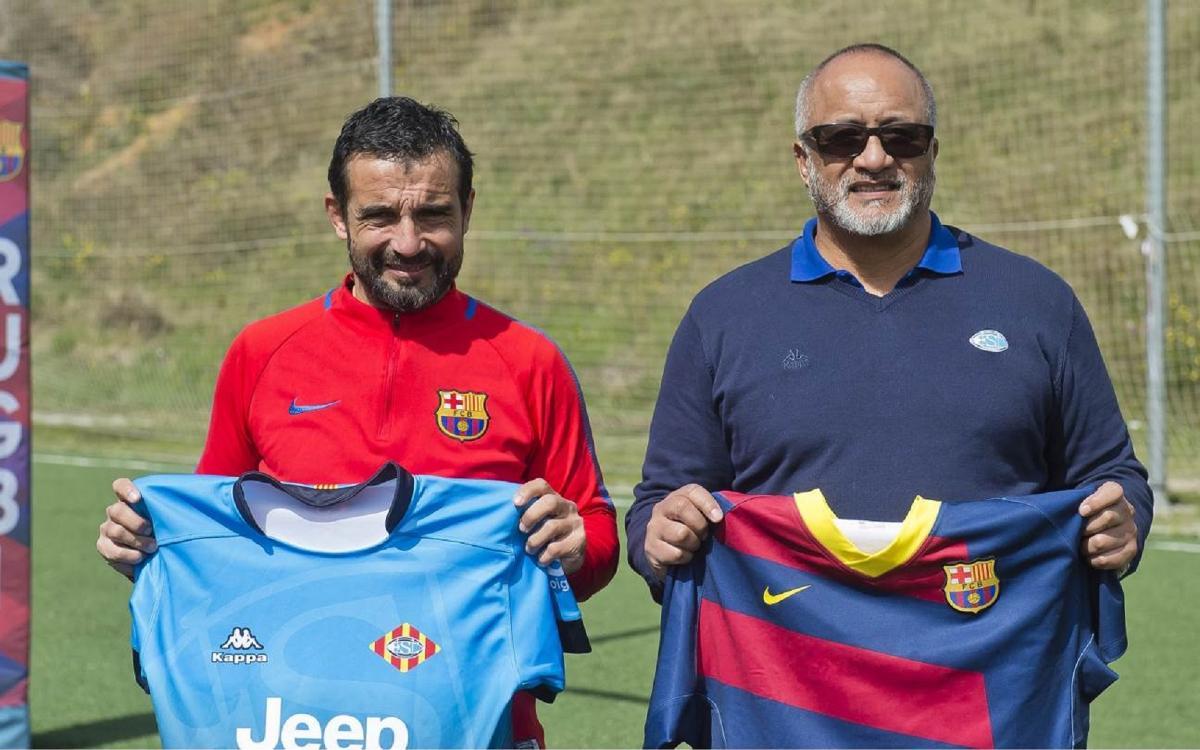 """Tomy García: """"a casa hem de pensar en la victòria"""""""