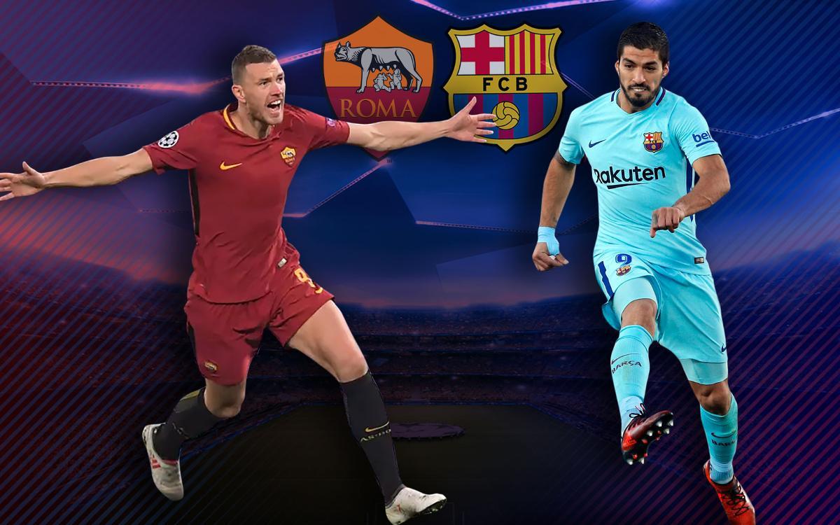 Roma - FC Barcelona: Una cita per estar entre els millors