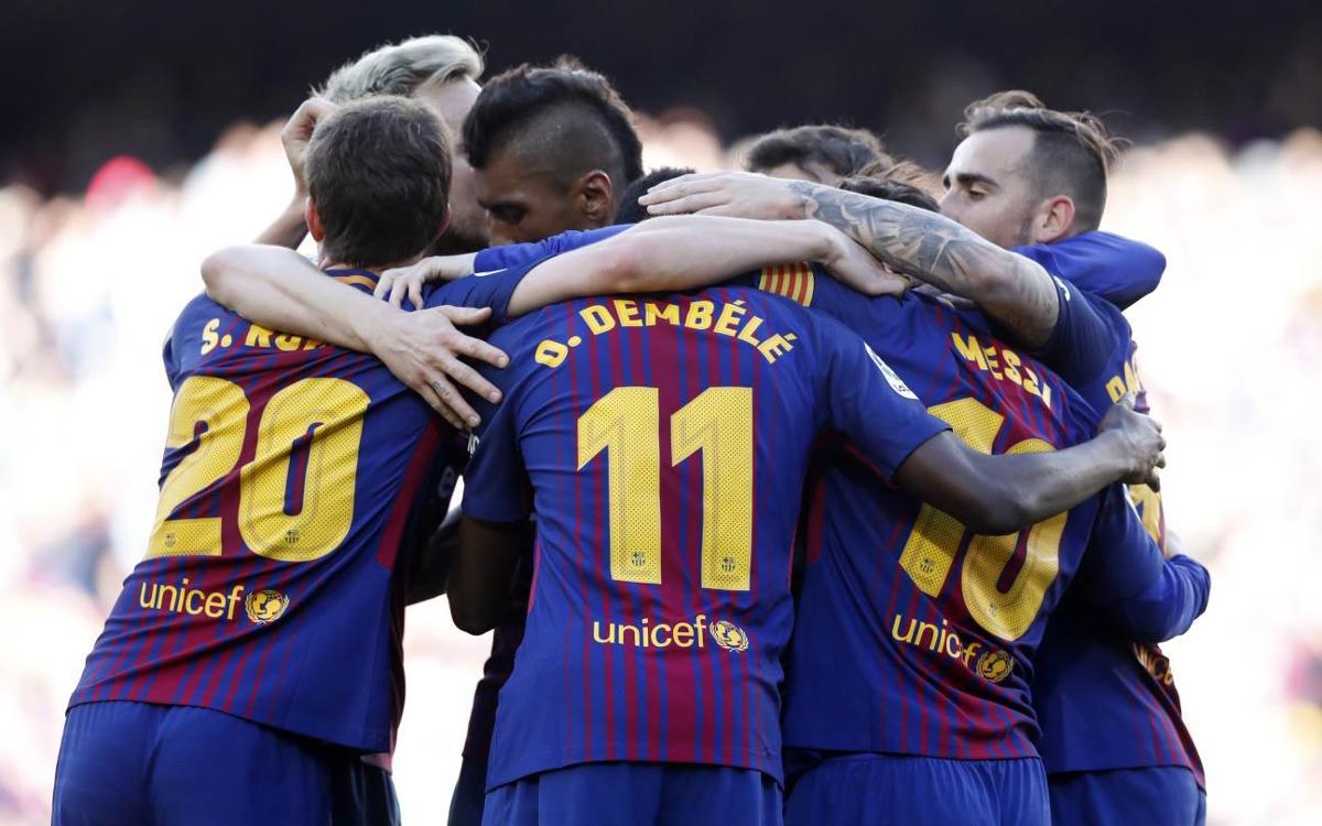 Vidéo - Les moments forts de la victoire du FC Barcelone contre Bilbao (2-0)