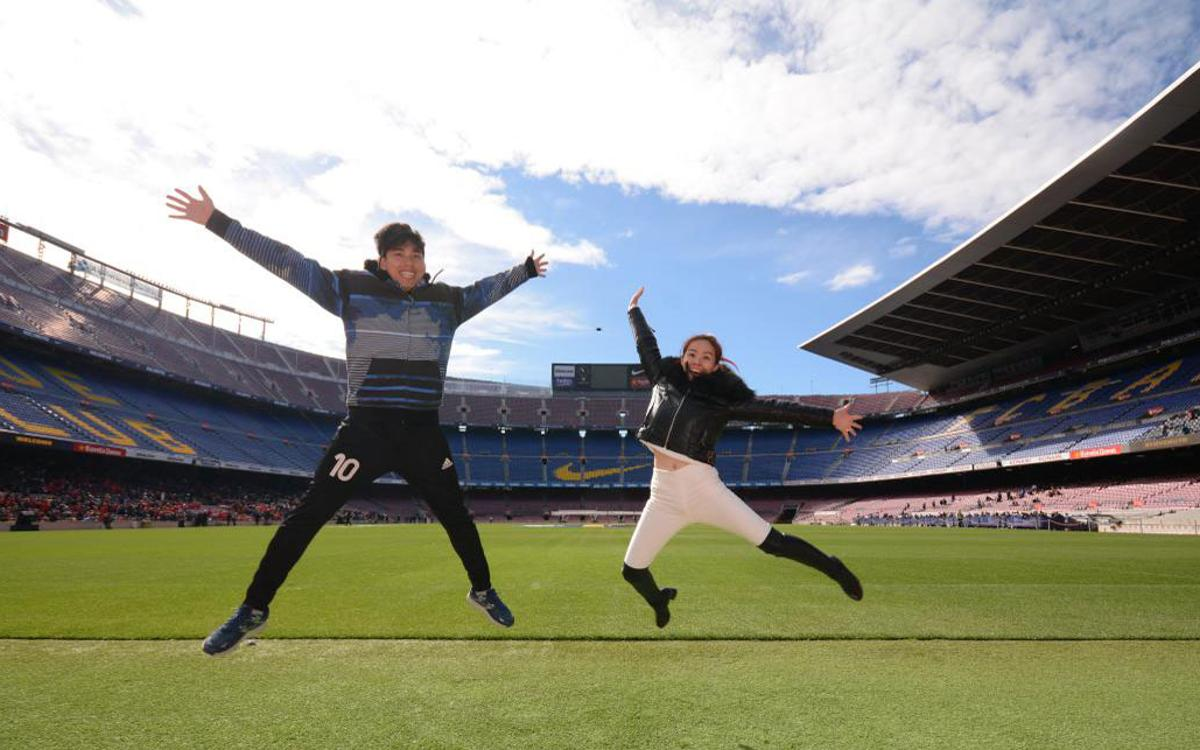 Discounted prices for virtual reality attraction at Camp Nou
