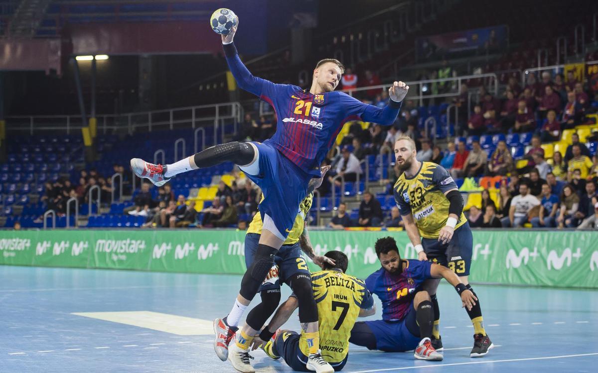 Barça Lassa beats Bidasoa Irún, 29-26
