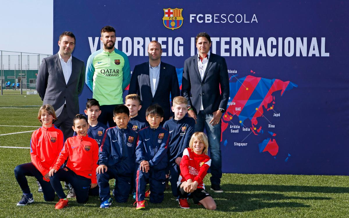 Presentation of VI FCBEscola International Tournament