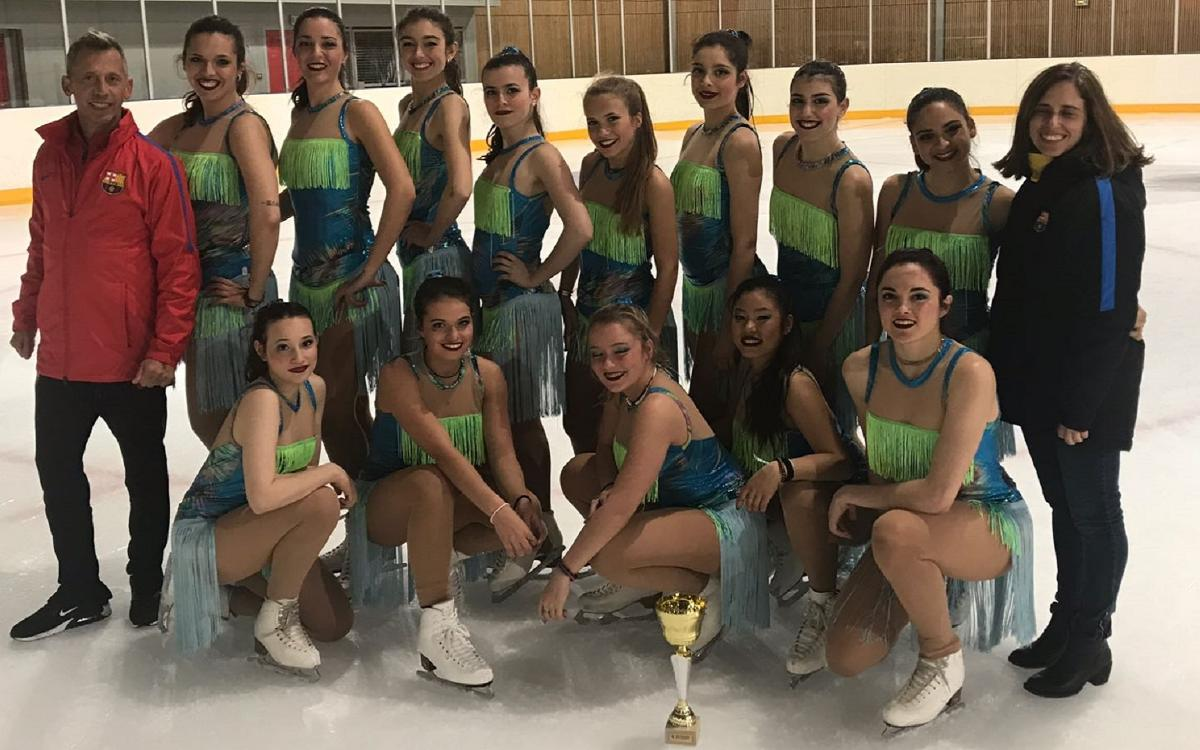 El Barça se cuelga la medalla de plata del Trofeo de Occitania de ballet