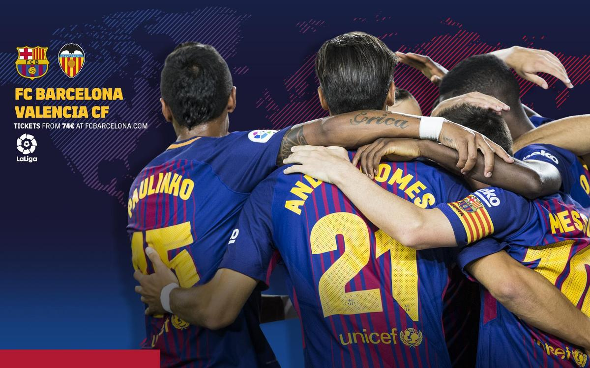 When and where to watch FC Barcelona vs Valencia