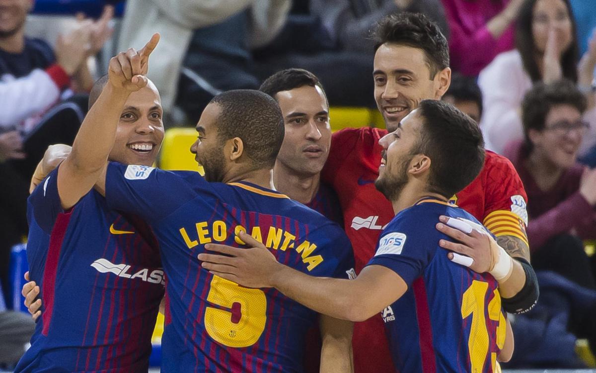 FC Barcelona Lassa – Peñíscola RehabMedic: Comfortable win (6-1)