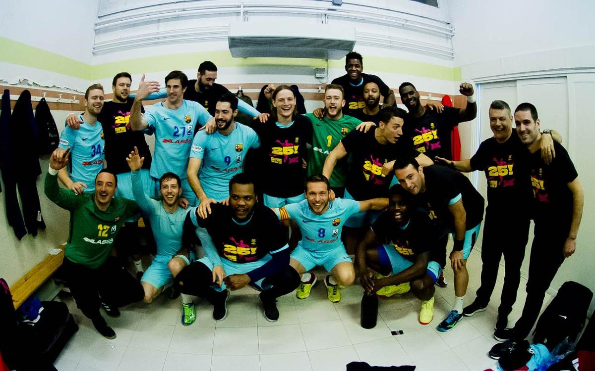 Liberbank Ciudad Encantada - Barça Lassa: ¡Campeones de Liga! (27-30)