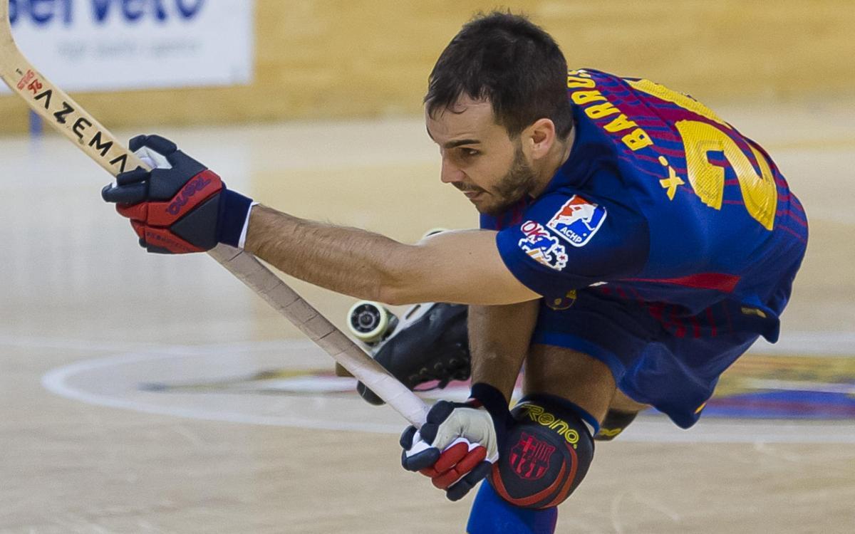 Xavi Barroso, lesionado en el bíceps femoral de la pierna izquierda
