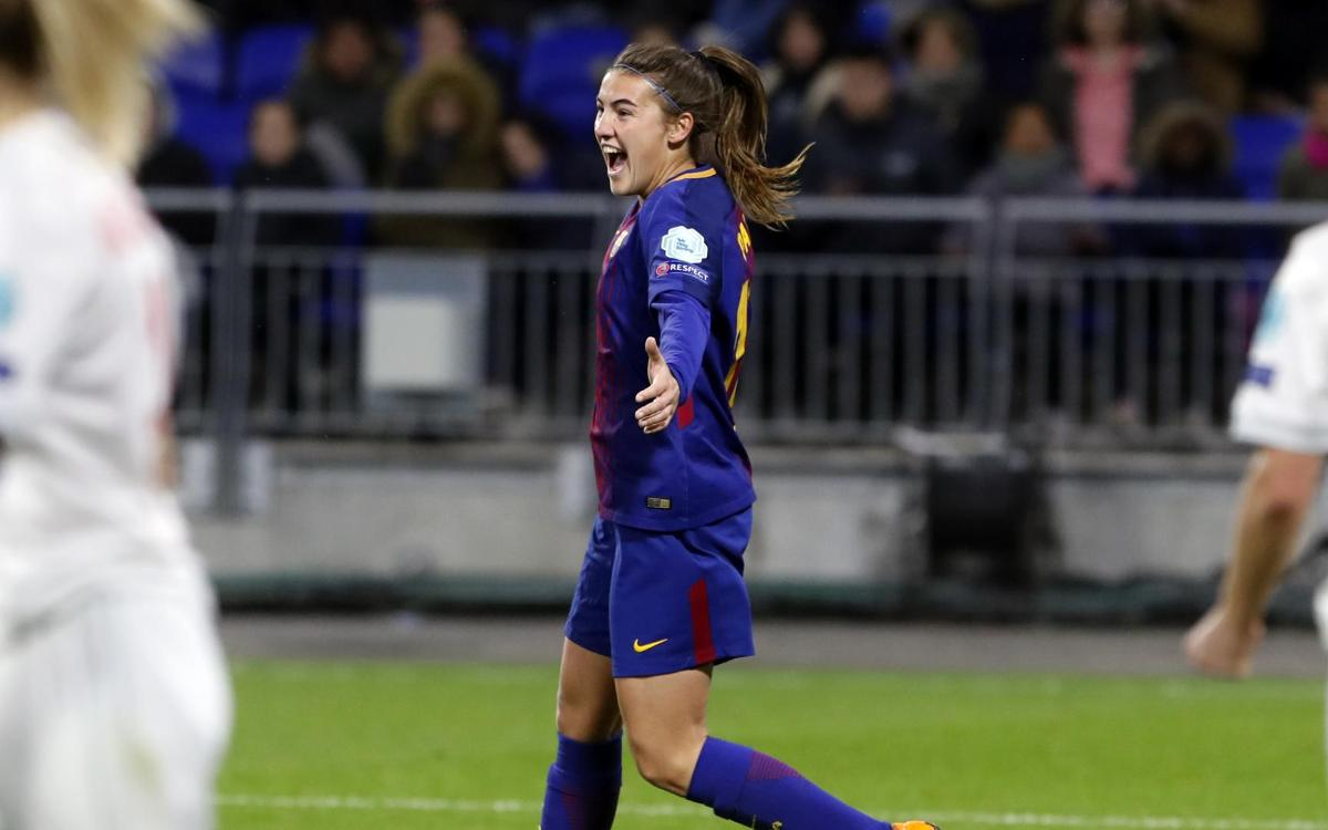 Olympique Lyon v FC Barcelona Women: All to play for! (2-1)