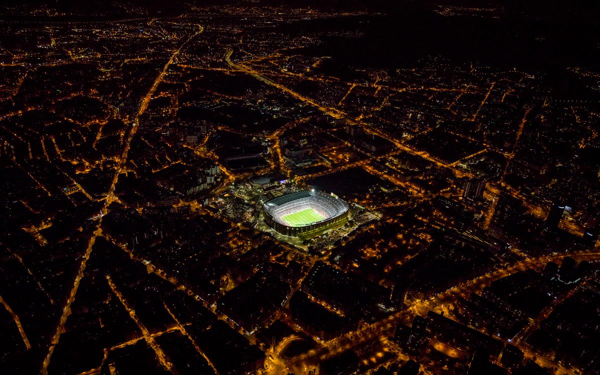 Camp Nou from the air