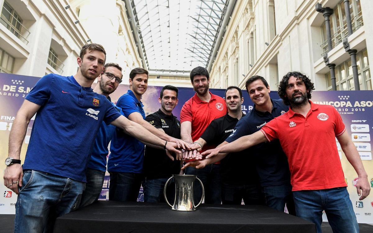 El Atlético Valladolid, rival en los cuartos de final de la Copa del Rey