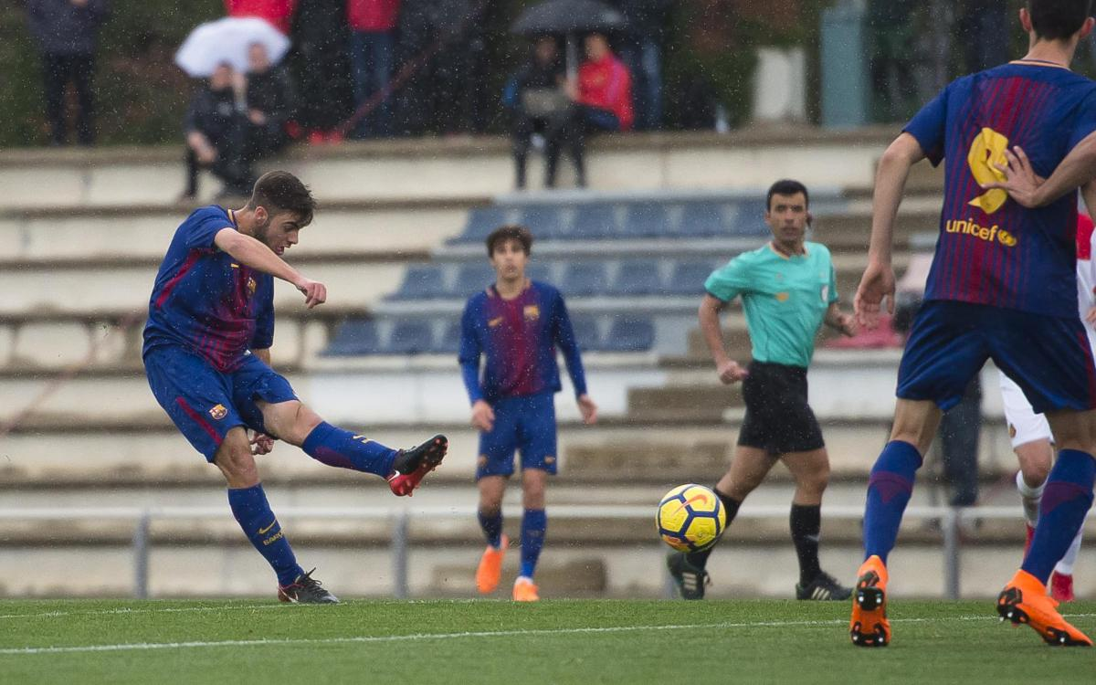 U19A v Mallorca: Controlled victory from champions (2-0)
