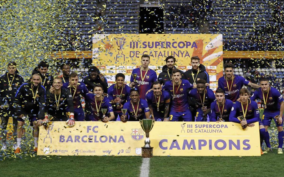 FC Barcelona - RCD Espanyol: ¡Campeones de la Supercopa de Catalunya! (4-2)
