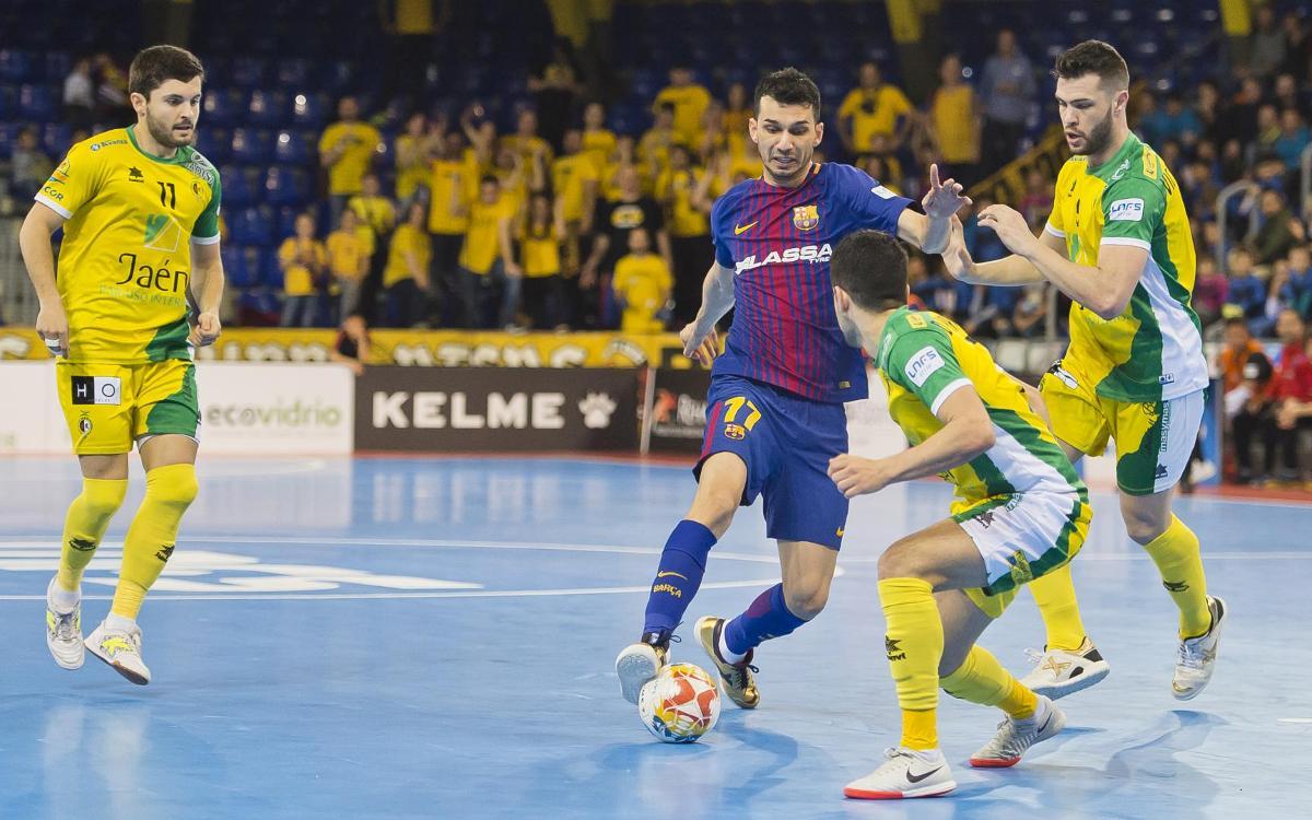 El Jaén, rival a la final de Copa del Rei