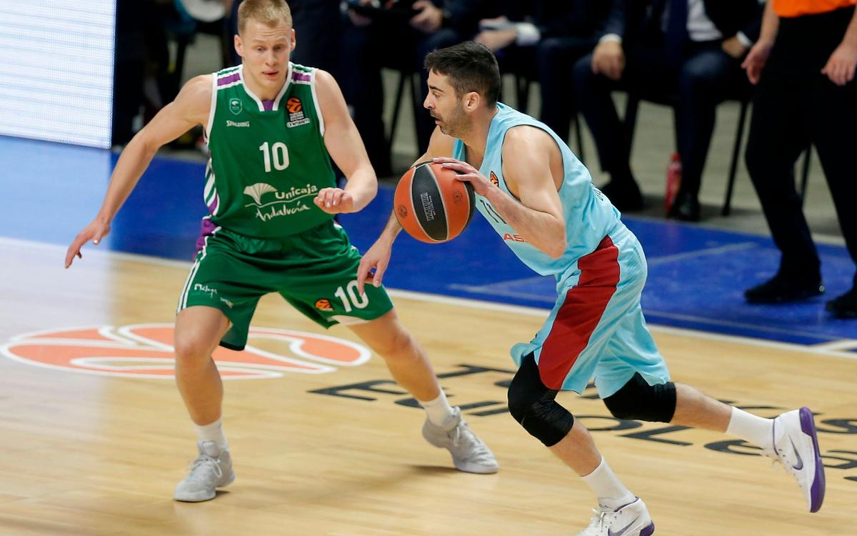 Unicaja Màlaga – Barça Lassa: Beaten in a tight finale (95-91)