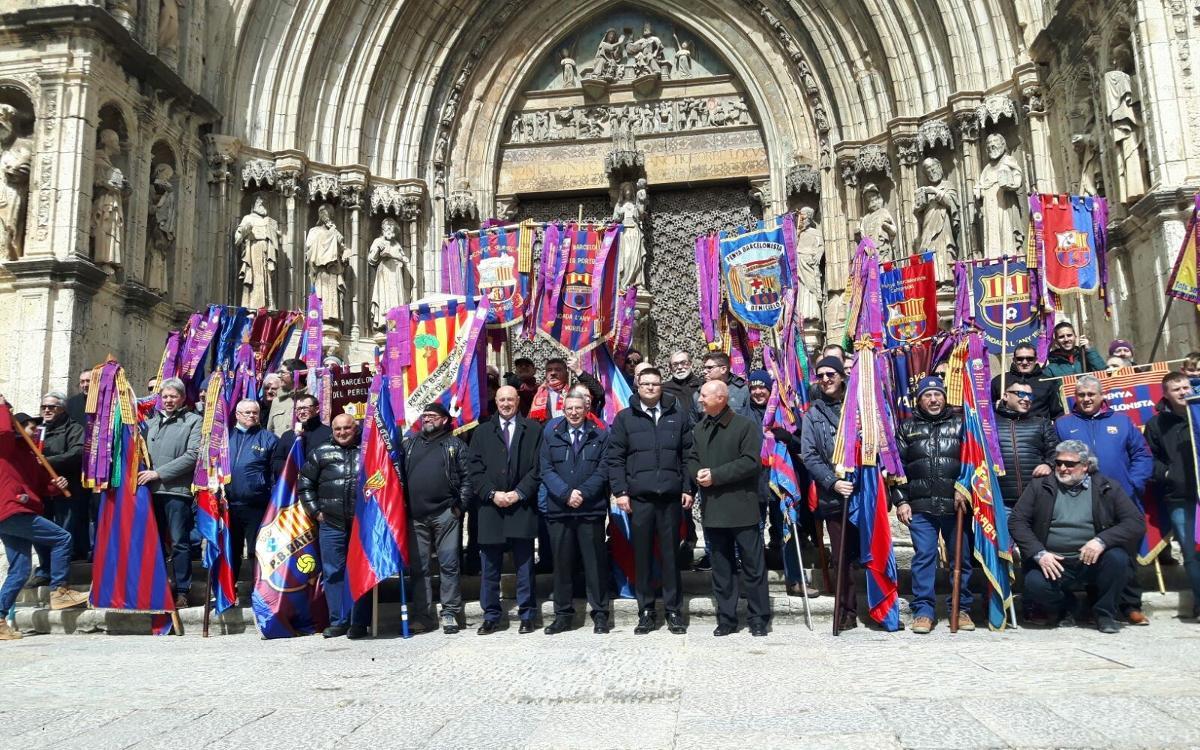 Morella celebra el 25è Aniversari de la Penya Barcelonista Els Ports