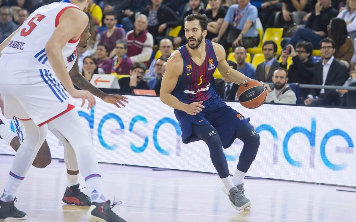 Anadolu Efes – FC Barcelona: Último partido europeo a domicilio del curso