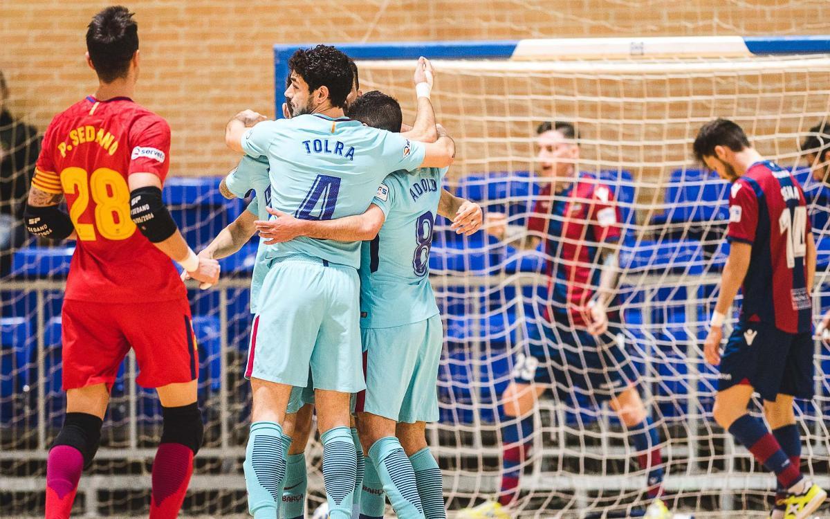 Levante UD Fútbol - FC Barcelona Lassa: Exhibición ofensiva en El Cabanyal (3-9)