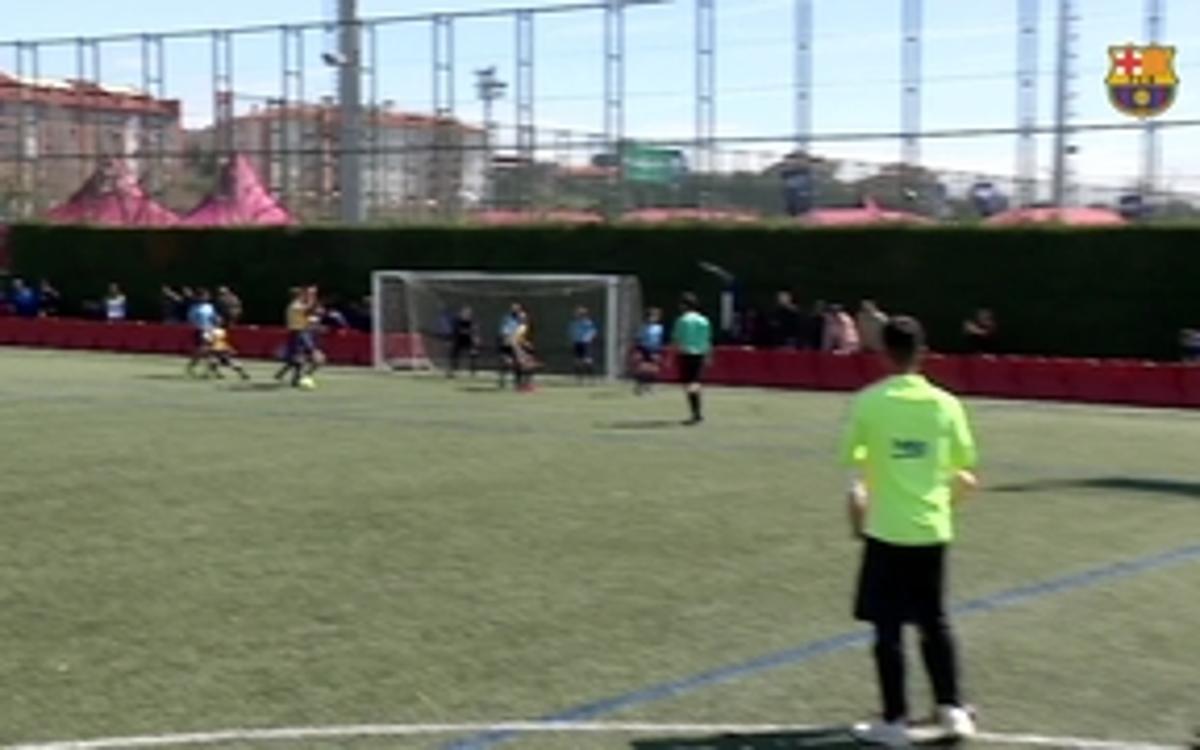 Los mejores goles del Torneo FCBEscola