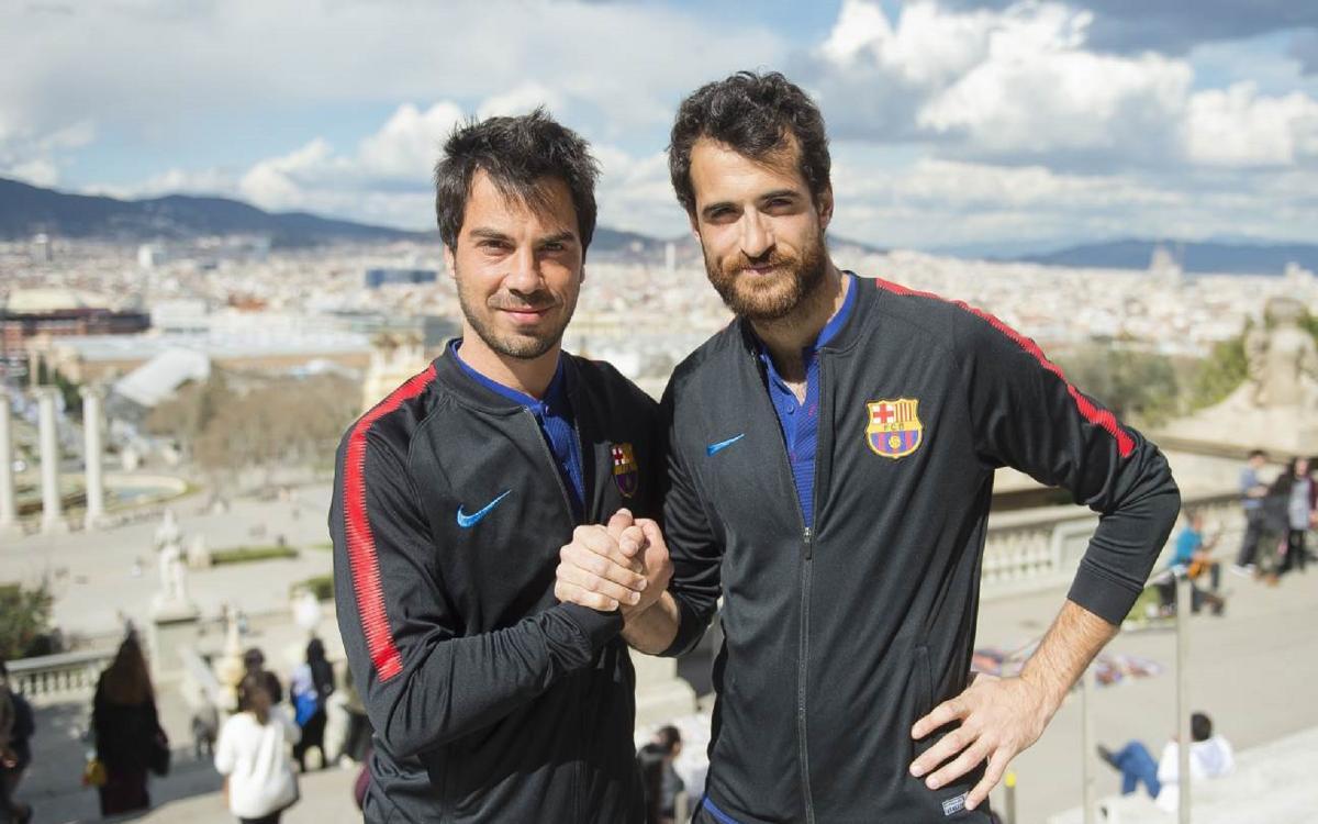 El derbi barcelonés en un buen momento para el Barça