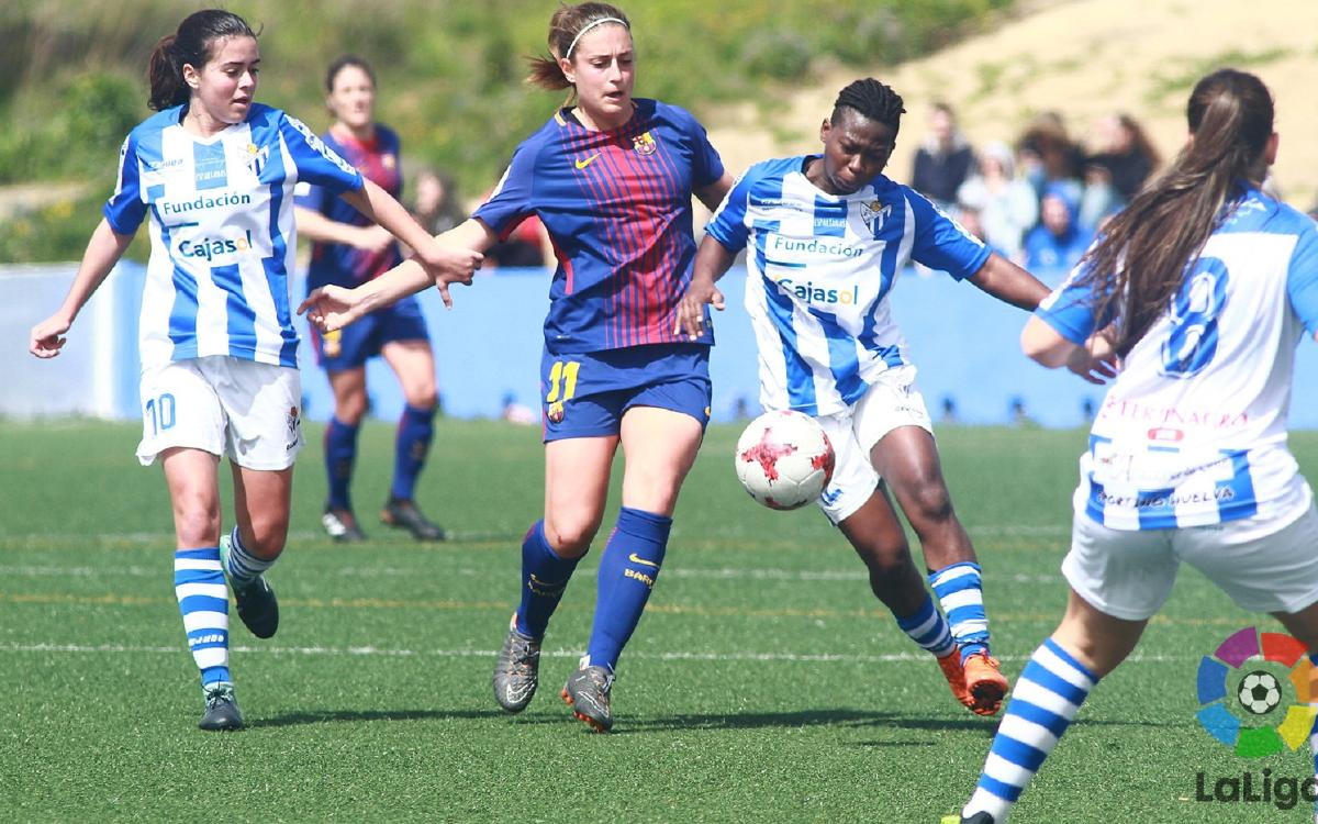 Sporting Huelva v Barça Women: No change in La Liga (1-1)