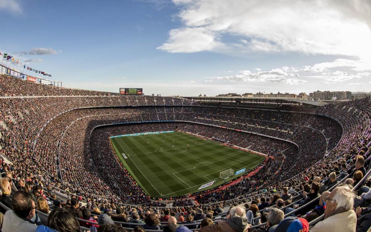 El Camp Nou no falla en el tramo decisivo de la temporada