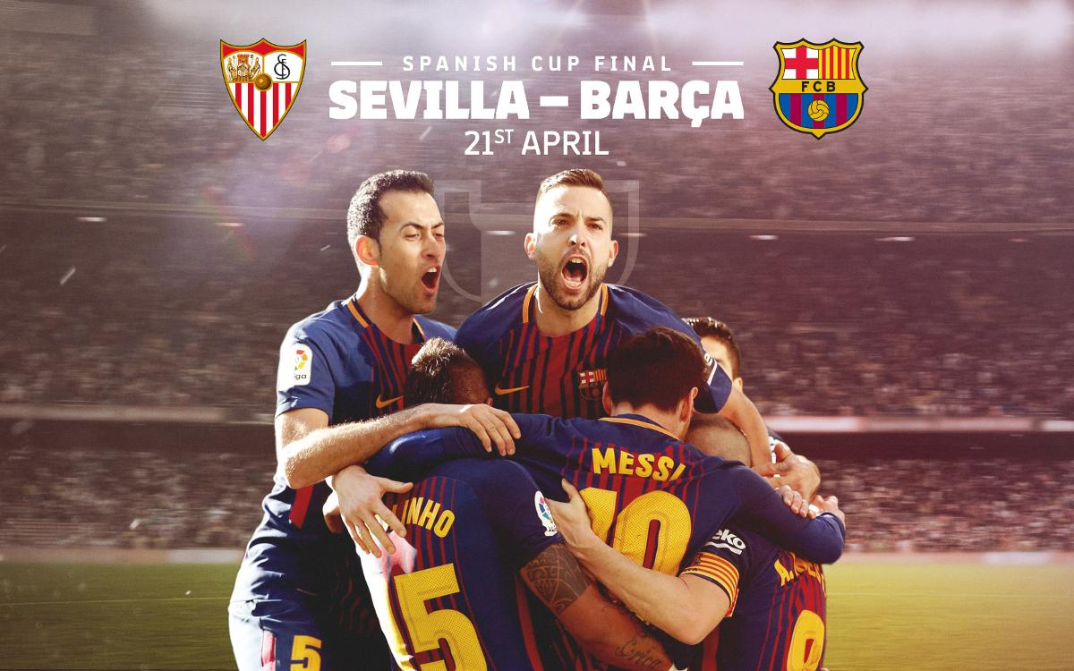 Spanish Cup final tickets for Penyes