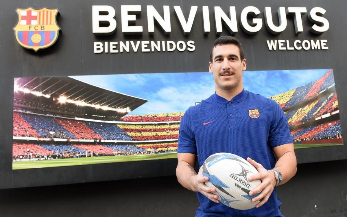 El Barça presenta a Rodrigo Marrón como nuevo jugador del primer equipo