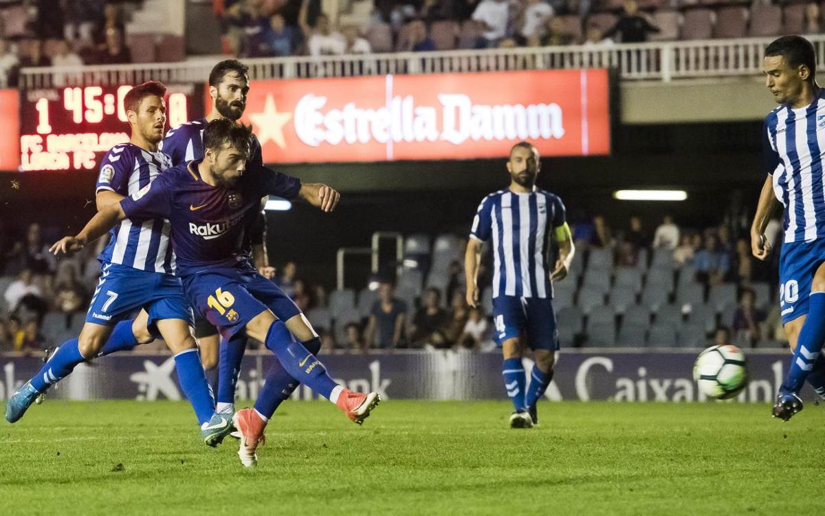 Lorca FC – Barça B: Partit trampa a l'Artés Carrasco