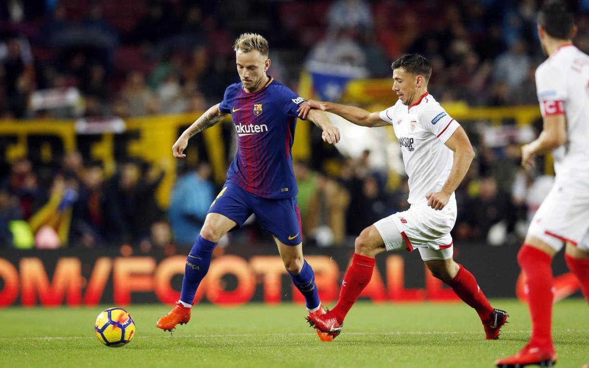 Un triple Sevilla – FC Barcelona
