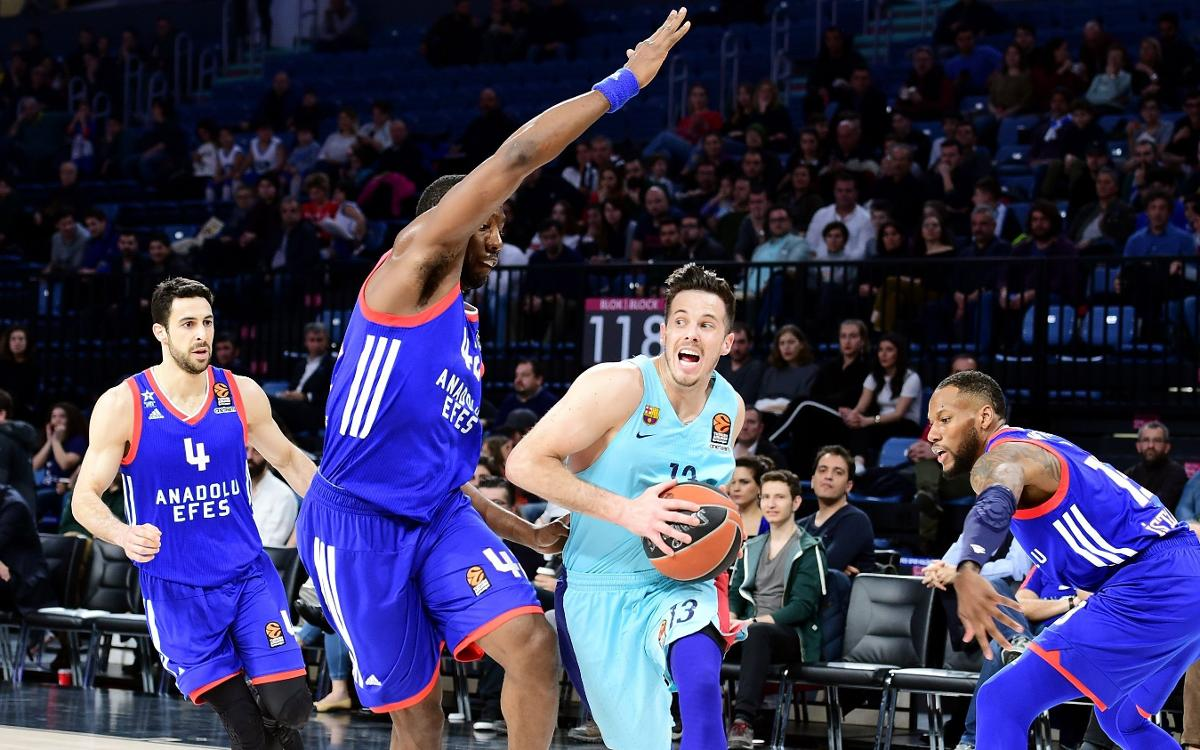 Barça Lassa break various records against Anadolu Efes
