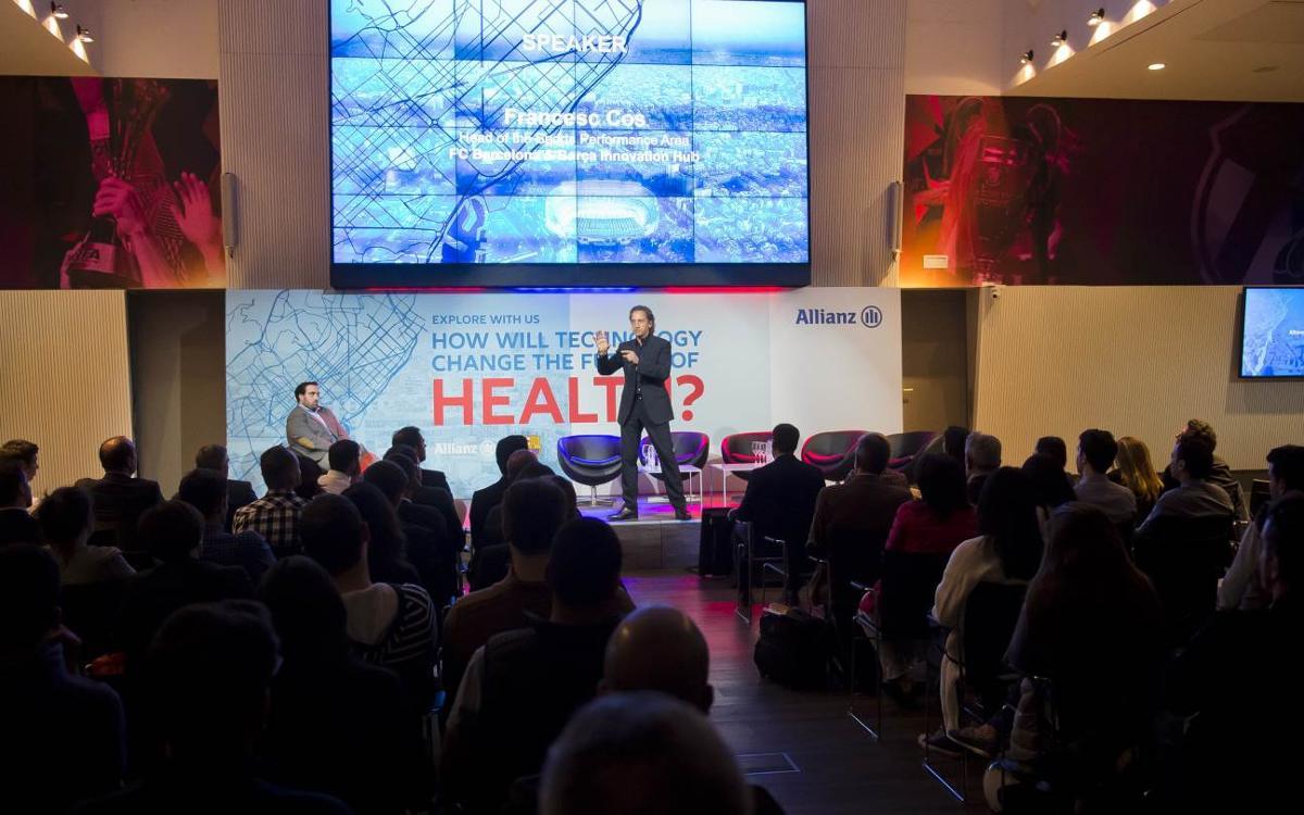 El Barça Innovation Hub, en colaboración con Allianz, muestra cómo la tecnología transforma la medicina aplicada al ámbito deportivo
