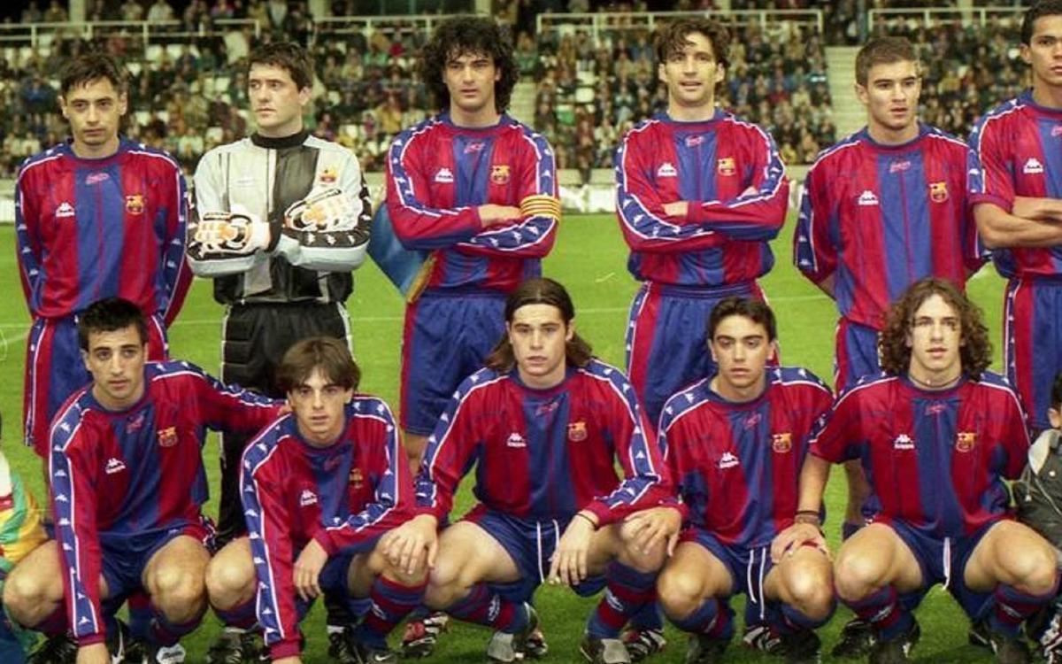 20 years since Xavi Hernández' Barça debut