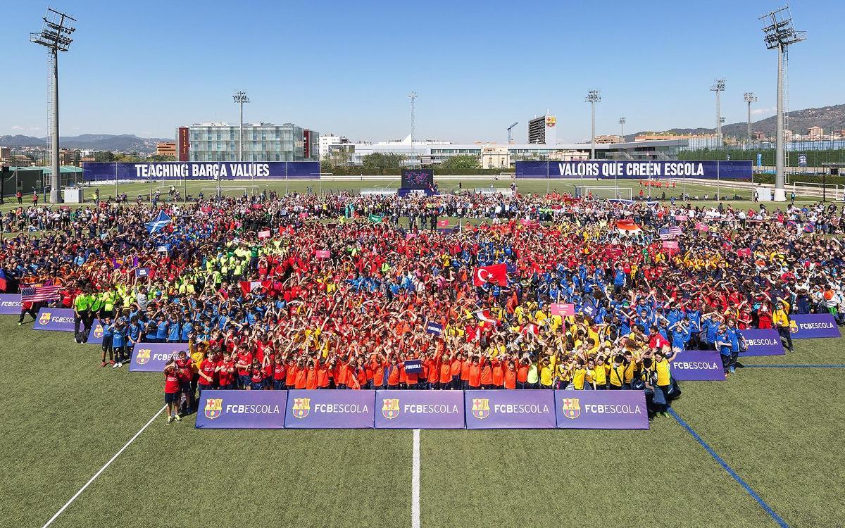 The VII FCBEscola International Tournament, up close