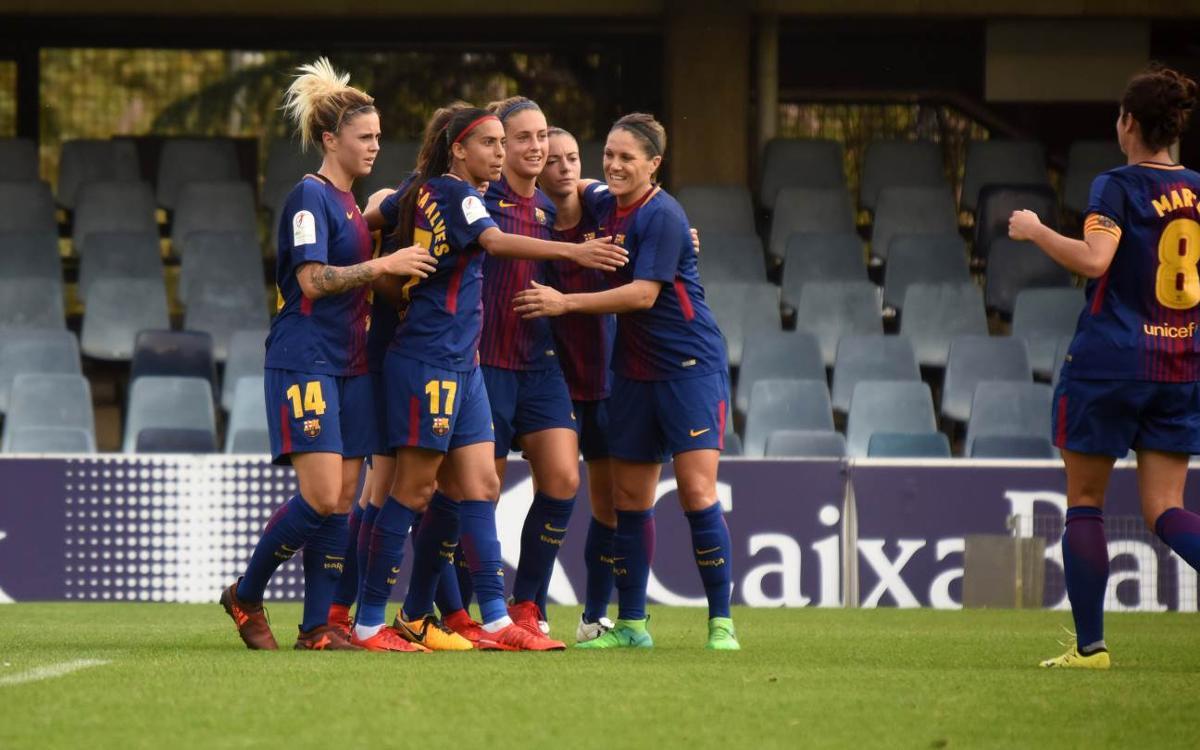 Sporting Huelva - FC Barcelona Femenino (previa): ¡Liderato de nuevo a tiro!