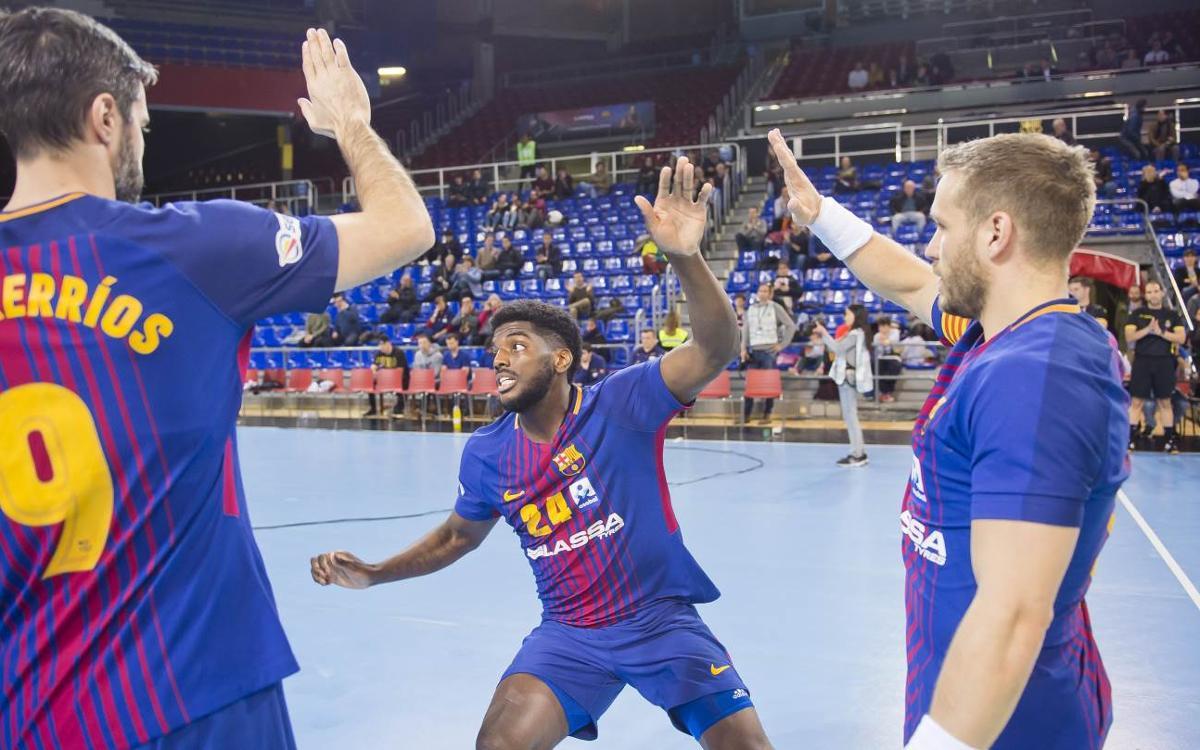El Barça Lassa afronta la recta final de la Lliga Asobal