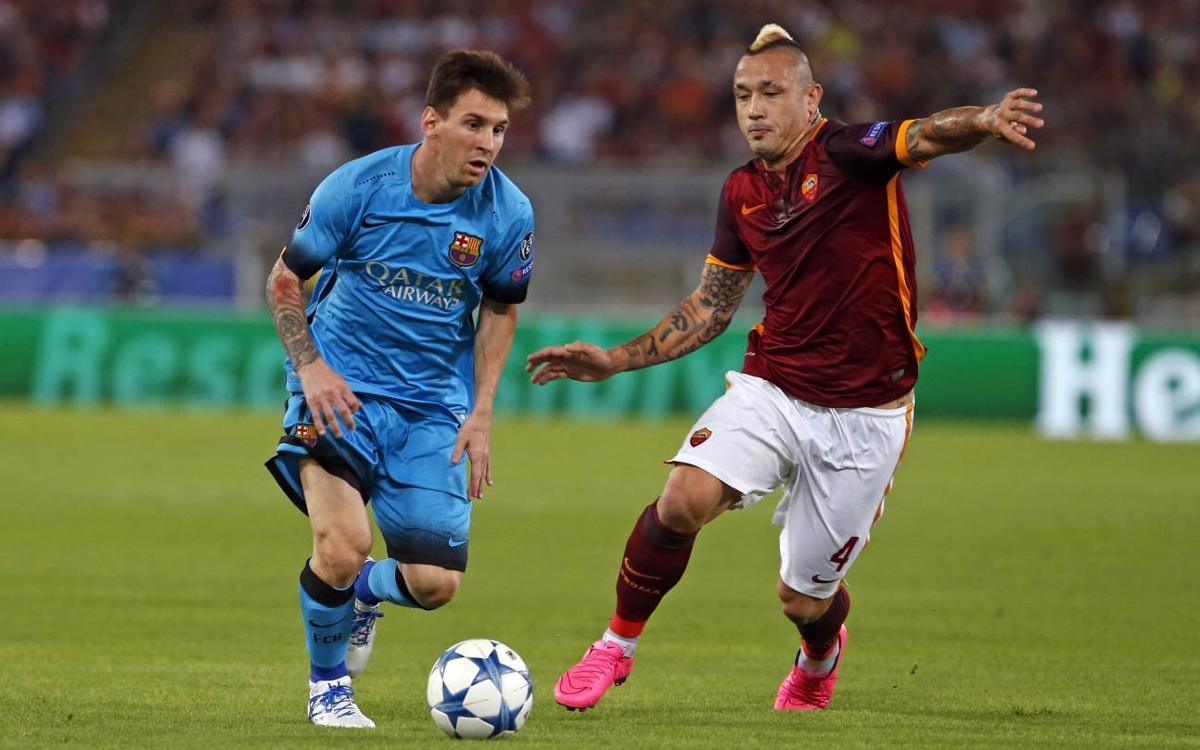 Los Barça - Roma del parón de selecciones